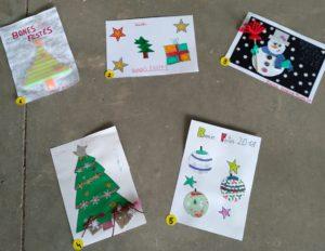 postals participants de Educació Infantil